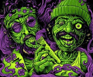 comedy, creepy, and green image