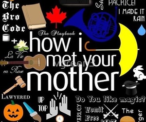 himym, how i met your mother, and howimetyourmother image