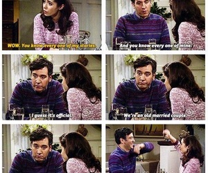 couple, himym, and how i met your mother image