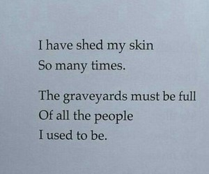 quotes, poem, and graveyard image