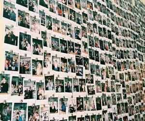 polaroid, young, and wall image