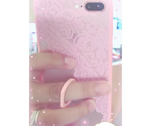 case, pink, and cute image