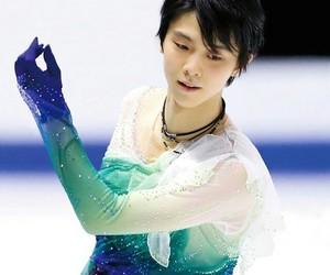 yuzuru hanyu, boy, and figure skating image