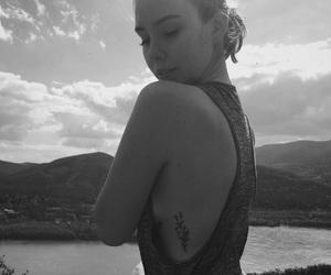 beautiful, fashion, and flower tattoo image