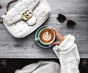 coffee, bag, and gucci image