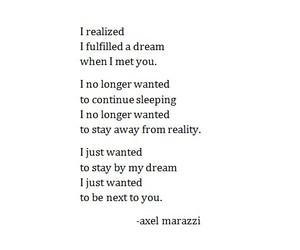 beautiful, Dream, and feelings image