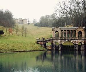 bridge, bath, and lake image