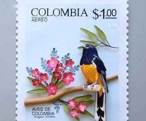 colombia, estampillas, and filatelia image