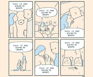 comic, funny, and this is not going to work image