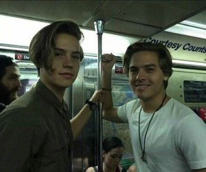 cole sprouse, dylan sprouse, and boy image