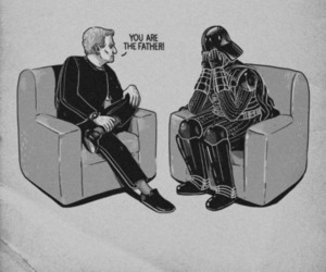 star wars, darth vader, and maury image