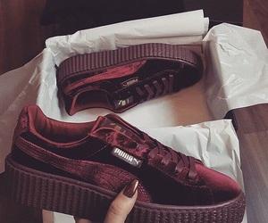 shoes, puma, and fashion image