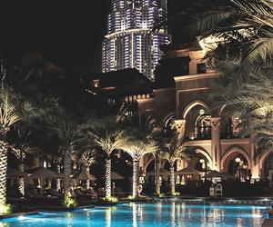 luxury, Dubai, and pool image