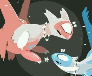 pokemon, fanart, and latias image