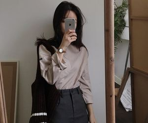 fashion, ulzzang, and clothes image