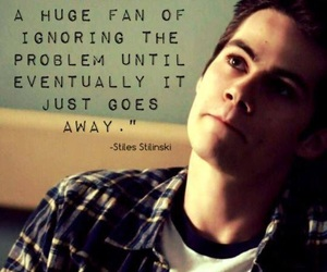 quote and teen wolf image