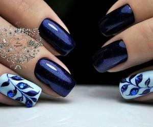 manicure, fashion, and nails image