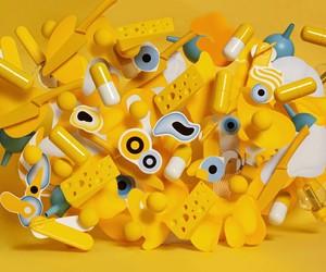 visual art, elise, and yellow image