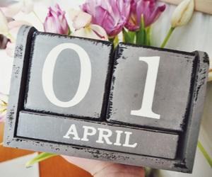 april, beautiful, and decor image