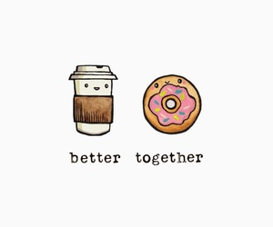 donuts, wallpaper, and better together image