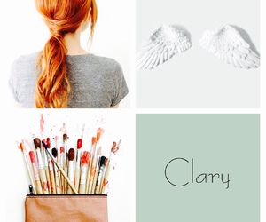 ginger, pretty, and clary fray image