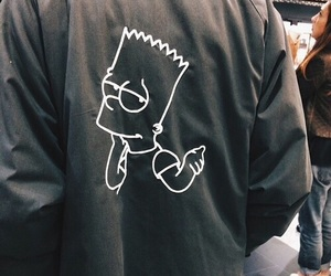grunge, theme, and simpsons image