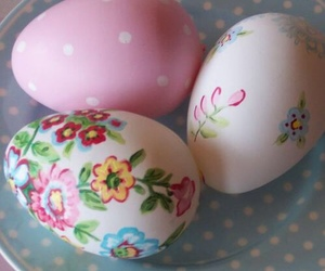 easter, floral, and spring image