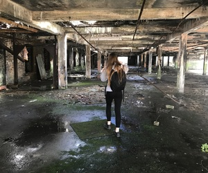 abandoned, building, and creepy image