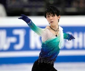 figure skating, ice, and japanese image