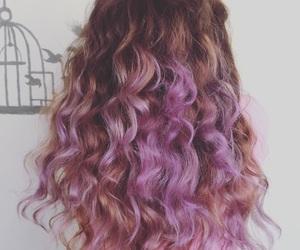 bonito, hair, and purple image