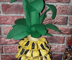 alcohol, champagne, and pineapple image
