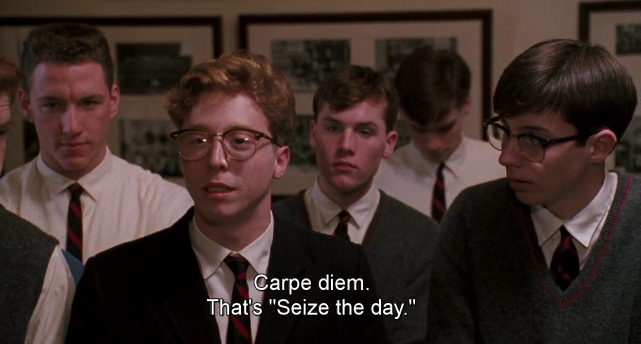 carpe diem and seize the day image