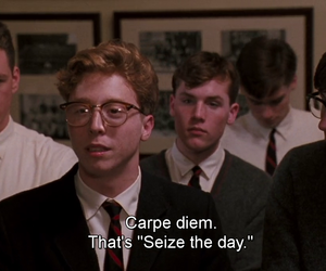 carpe diem and seize the day image