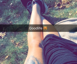 beautiful day, inked, and nike image