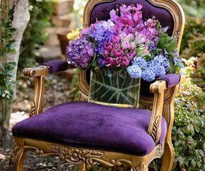purpple chair image