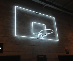 neon and Basketball image