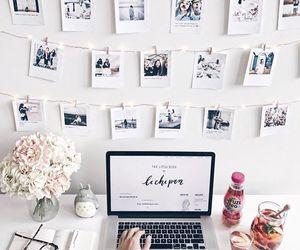 decor, flowers, and minimalist image