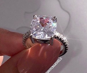 diamond, goals, and ring image
