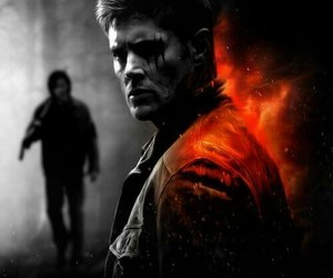 supernatural, dean and sam, and fanart spn image