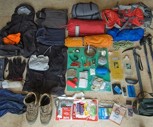 backpack, backpacking, and camping image