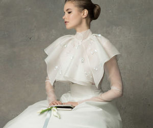 wedding dress and happy image