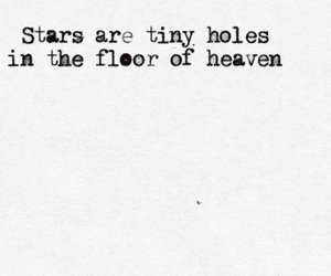 quote, stars, and heaven image
