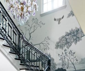 home decor, wallpaper, and murals image