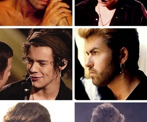 george michael and Harry Styles image