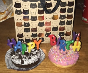 donuts and happy birthday image