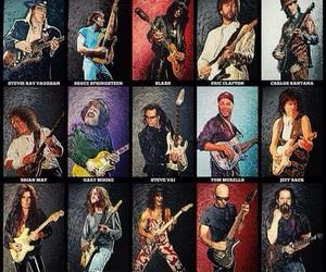 angus young, Eddie Van Halen, and guitarristas image