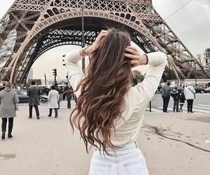 paris, girl, and hair image