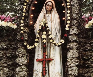 grace, prayer, and Virgin Mary image