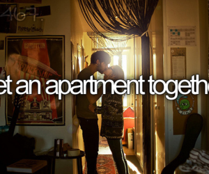 love, apartment, and couple image