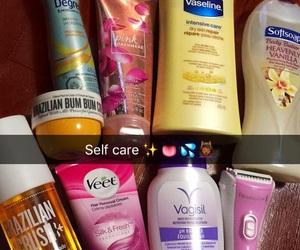 hygiene, self care, and essentials image